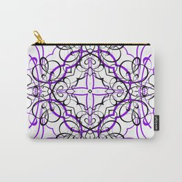 VIOLET SACRED GEOMETRY Carry-All Pouch