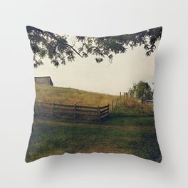 Country Roads II Throw Pillow