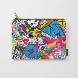 Stickerbomb Carry-All Pouch
