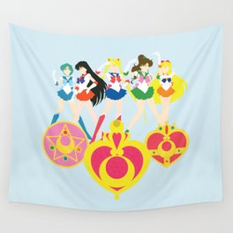 Sailor Soldiers Wall Tapestry
