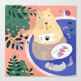 Have a Break! Canvas Print