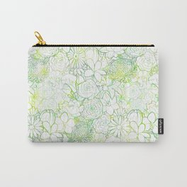 Fresh bright blooms Carry-All Pouch