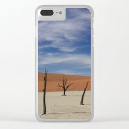 Surreal Life Clear iPhone Case