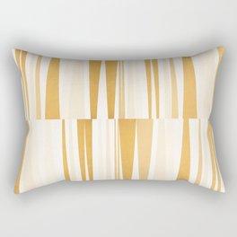 BEACHING PATTERN GOLD Rectangular Pillow