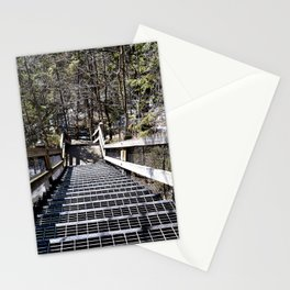 Tahquamenon Stairs Stationery Cards