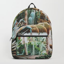 The Flora Of The Majorelle Garden Backpack