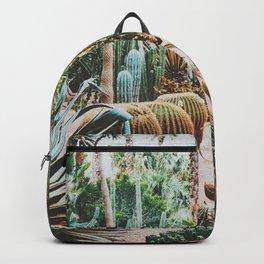 The Flora Of The Majorelle Garden Backpack