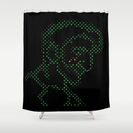Neon Tears (Colby) Shower Curtain