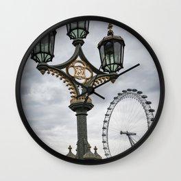All eyes of London Wall Clock