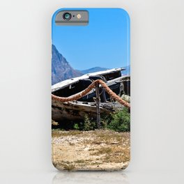 Tonnara di Bonagio on the Island Sicily iPhone Case