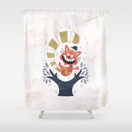 Cheshire Cat - Alice in Wonderland Shower Curtain