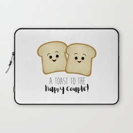 A Toast To The Happy Couple! Laptop Sleeve