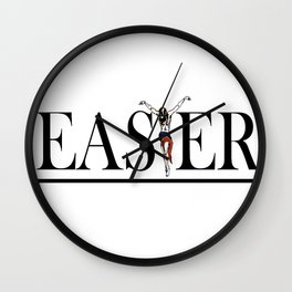 Christian and Gay Easter Wall Clock