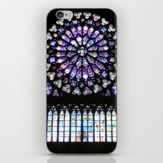 Window of Notre Dame. iPhone & iPod Skin