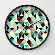 Harlequin tile Wall Clock