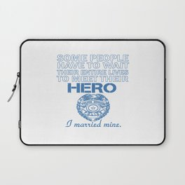 Police Officer's Wife Laptop Sleeve