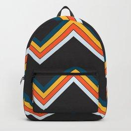 Classy Retro Stripes Pattern Suleviae Backpack