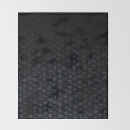 Cammo Dark Throw Blanket