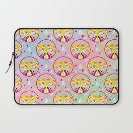 Usagi Tsukino VS Sailor Moon pattern Laptop Sleeve