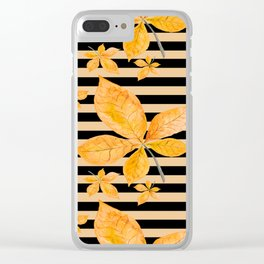 Autumn leaves #14 Clear iPhone Case
