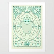 Slimer Jam Art Print