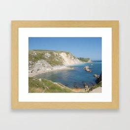 Durdle Door, Dorset, Photo 7 Framed Art Print