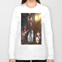 arctic monkeys Long Sleeve T-shirts featuring Arctic Monkeys in Williamsburg, New York by The Electric Blue / YenHsiang Liang