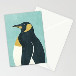 FAUNA / Emperor Penguin Stationery Cards