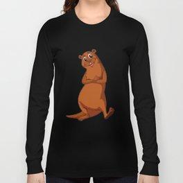 Otter Be Happy Long Sleeve T-shirt