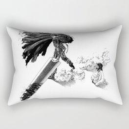 Berserk Guts & Casca Rectangular Pillow