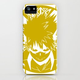 Stained Glass - My Hero Academia - Katsuki Bakugo iPhone Case