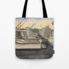 Hammerheads Dock Tote Bag