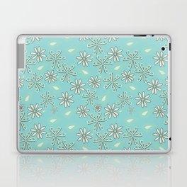 Blue Paisley Pile Laptop & iPad Skin