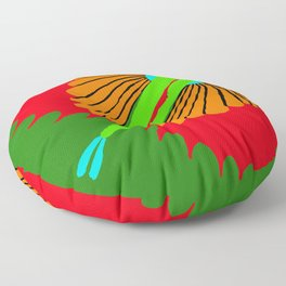 The Spectacular Flying Fish Floor Pillow