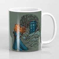 hallion Mugs featuring Follow Your fate by Karen Hallion Illustrations