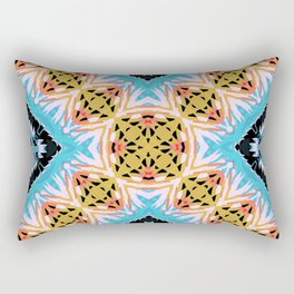 ethnic cross Rectangular Pillow