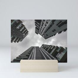 Milan Skycrapers Mini Art Print