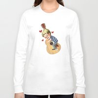 niall Long Sleeve T-shirts featuring Niall LOVE by RUBYCURLS
