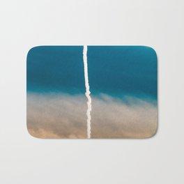 Contrail Sunset Bath Mat