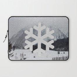 Snowflake Laptop Sleeve