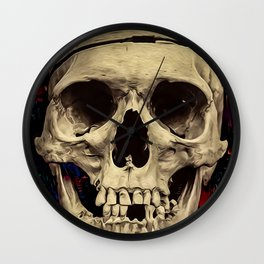 dream skull Wall Clock