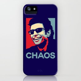 'Chaos' Ian Malcolm (Jurassic Park) iPhone Case