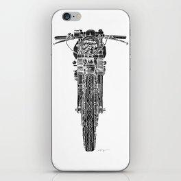 Vintage Italian 860 GTS Motorcycle iPhone Skin