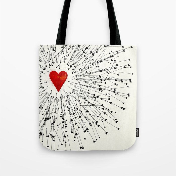 Heart&Arrows Tote Bag