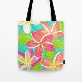 Plumeria love Tote Bag