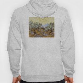 Vincent van Gogh - Olive Trees with Yellow Sky and Sun Hoody