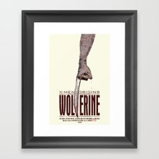 X-Men Origins: Wolverine Framed Art Print