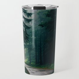 Eerie Dark Path (Color) Travel Mug