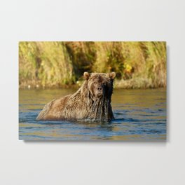 First Light at Kulik Metal Print