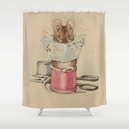 Beatrix Potter Tailor Mouse Shower Curtain